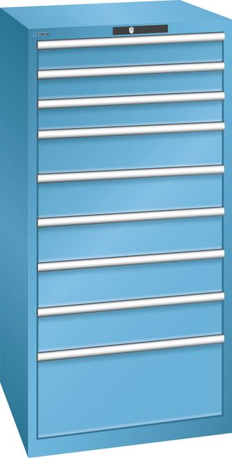 Drawer cabinet  (WxDxH) 717x725x1450mm 9 drawers (3x100/5x150/1x300) 75kg