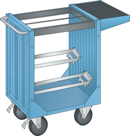 NC transport unit (WxDxH) 1077x514x927mm without tool holder
