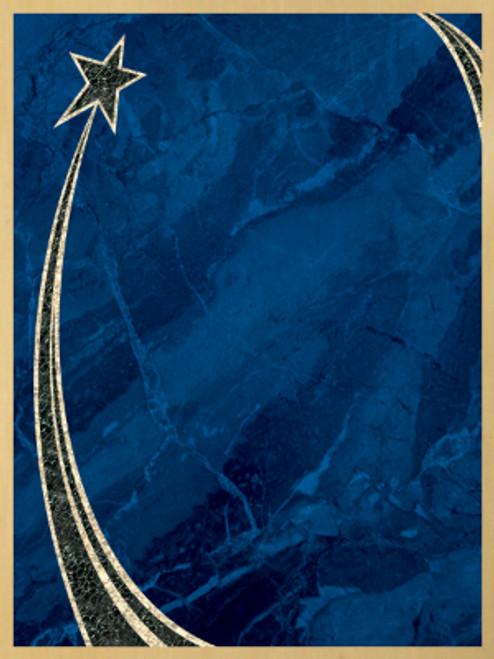 Blue Artist Plate RS1-68