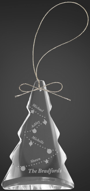 "3"" Crystal Tree Ornament"