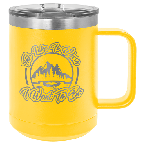 15 oz Coffee Mug with Handle