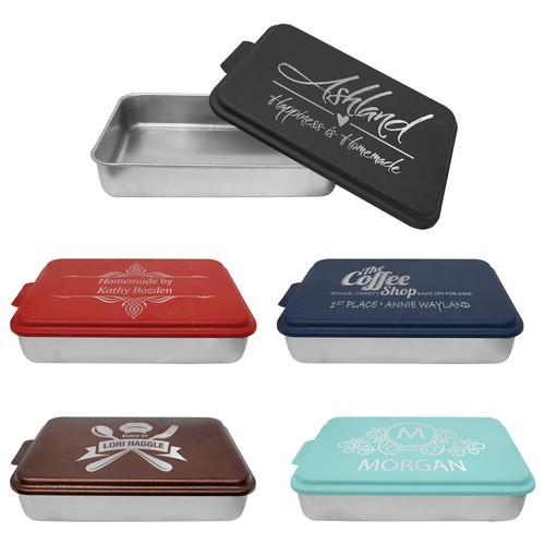 "9"" x 13"" cake pan in 5 colors - Covers only"