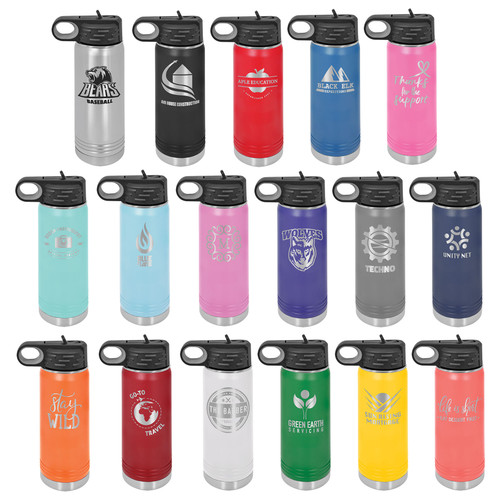 20 ounce water bottle collection