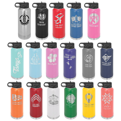 40 ounce water bottle collection
