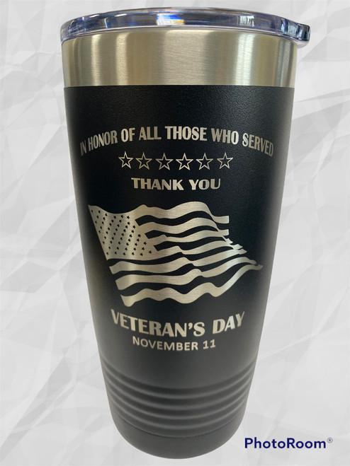 Veterans Day - 20 oz Coffee Tumbler