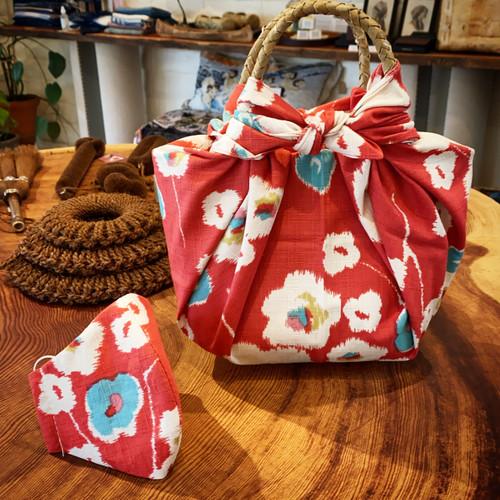 Furoshiki bag-mask combo
