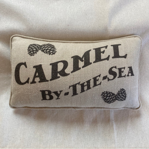 Hemp Carmel by the Sea  lumbar Pillow