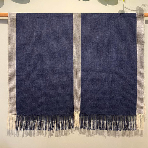 Alpaca Throw Blue