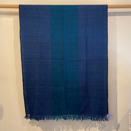Cashmere Throw Navy