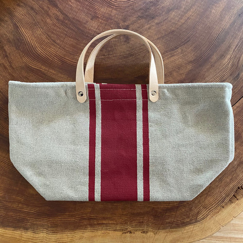 Hemp Market Bag Shorty Crimson