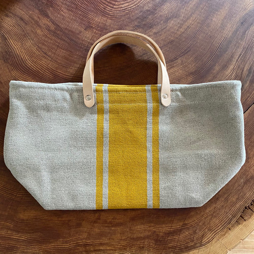 Hemp Market Bag Shorty Ochre