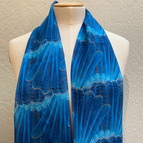 Silk Nature Print Scarves