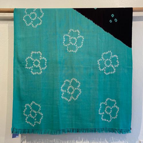 Merino Wool Tie Dye Throw