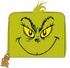 Dr Seuss - Grinch Zip Purse-LOUDSSWA0004-LOUNGEFLY