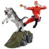 The Phantom - Phantom and Devil Red Suit Statue-IKO1619-IKON DESIGN STUDIO