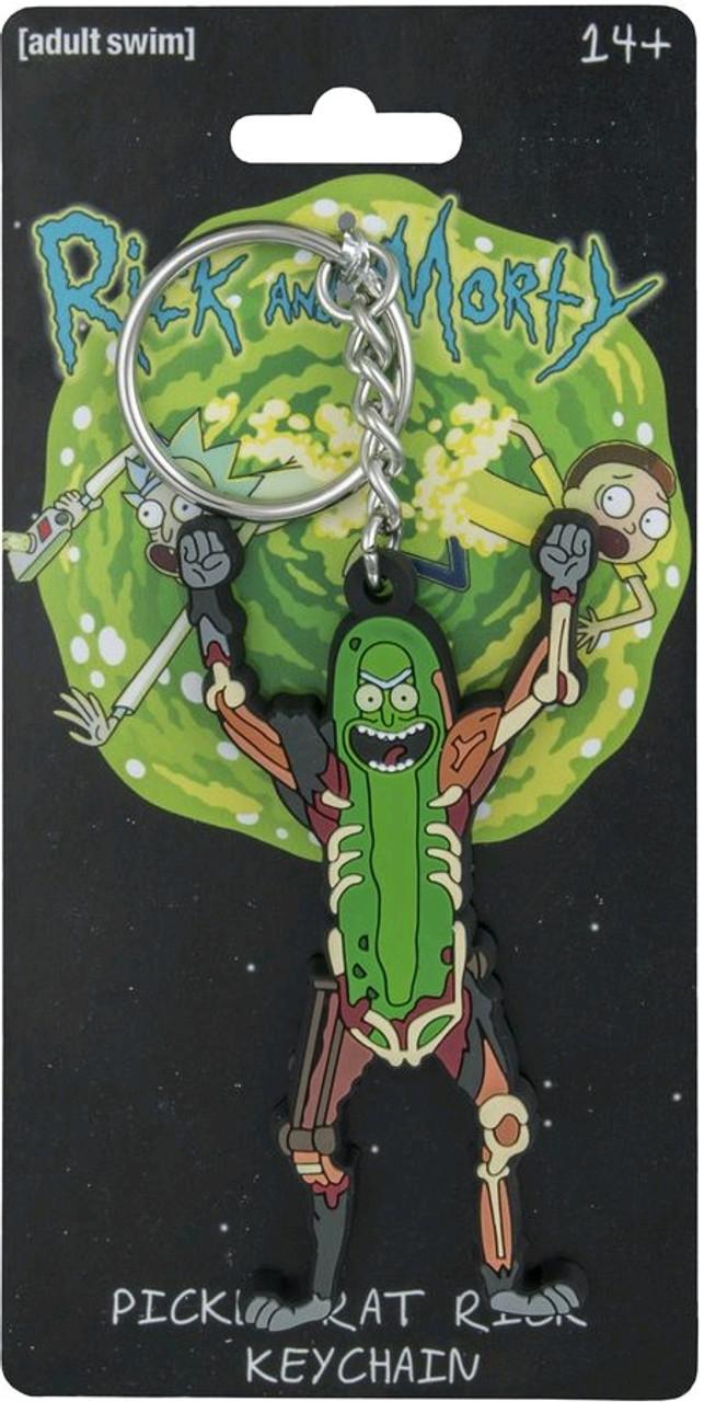 Rick and Morty - Pickle Rat Rick Keychain-IKO1250