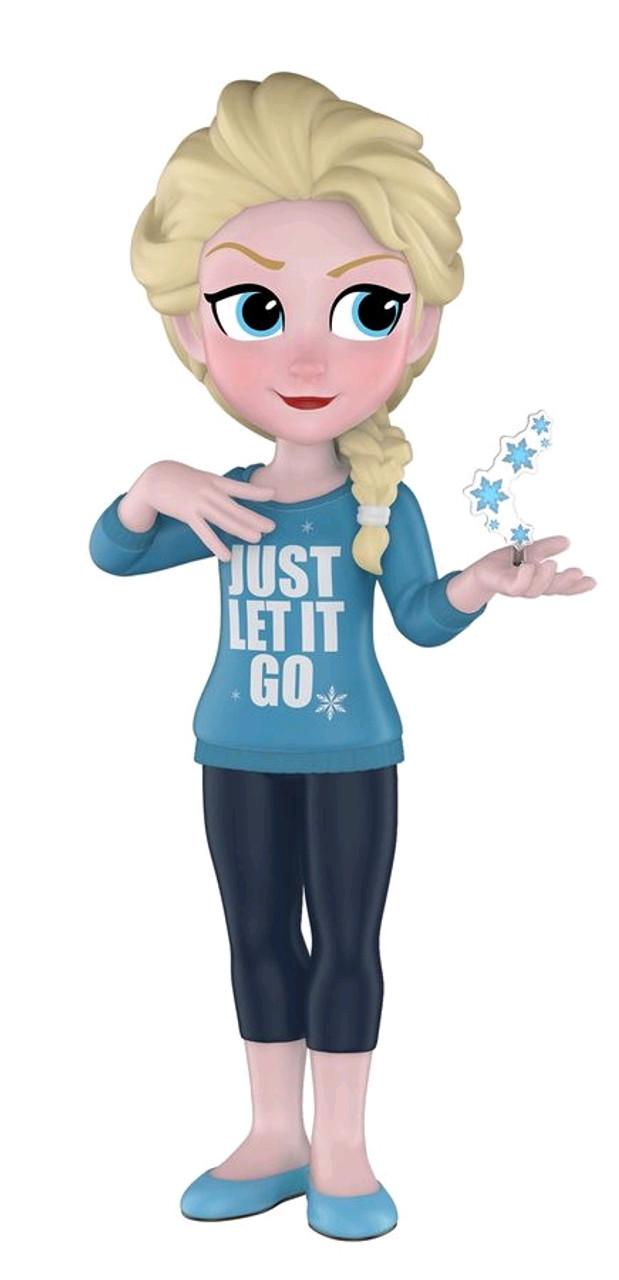 Wreck-It Ralph 2 - Comfy Elsa US Exclusive Rock Candy [RS]-FUN32983