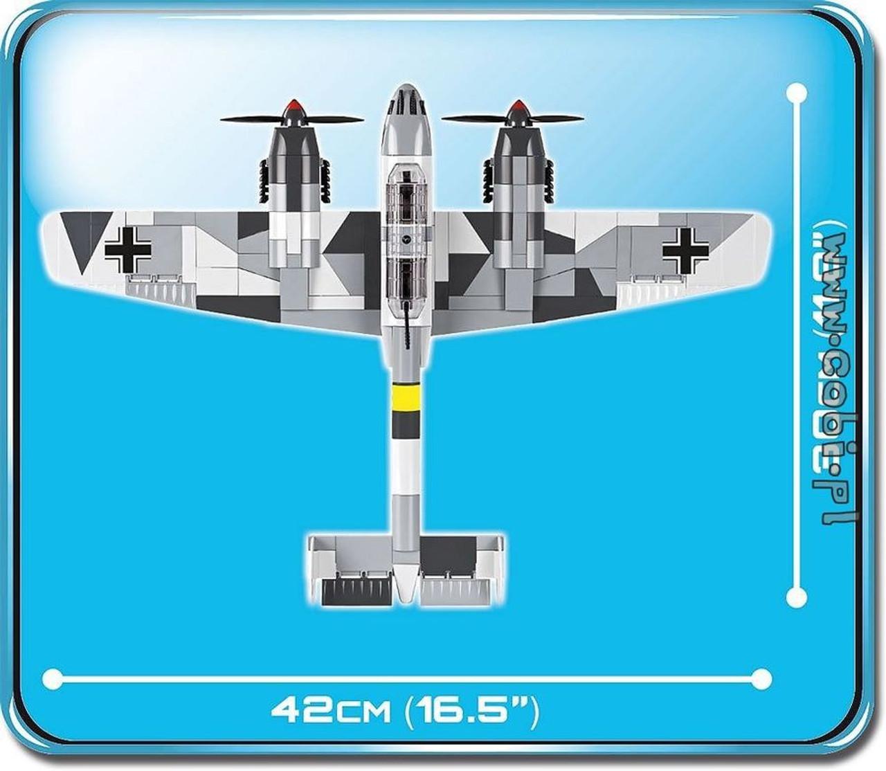 World War II - 410 piece Messerschmitt BF 110C-COB5538