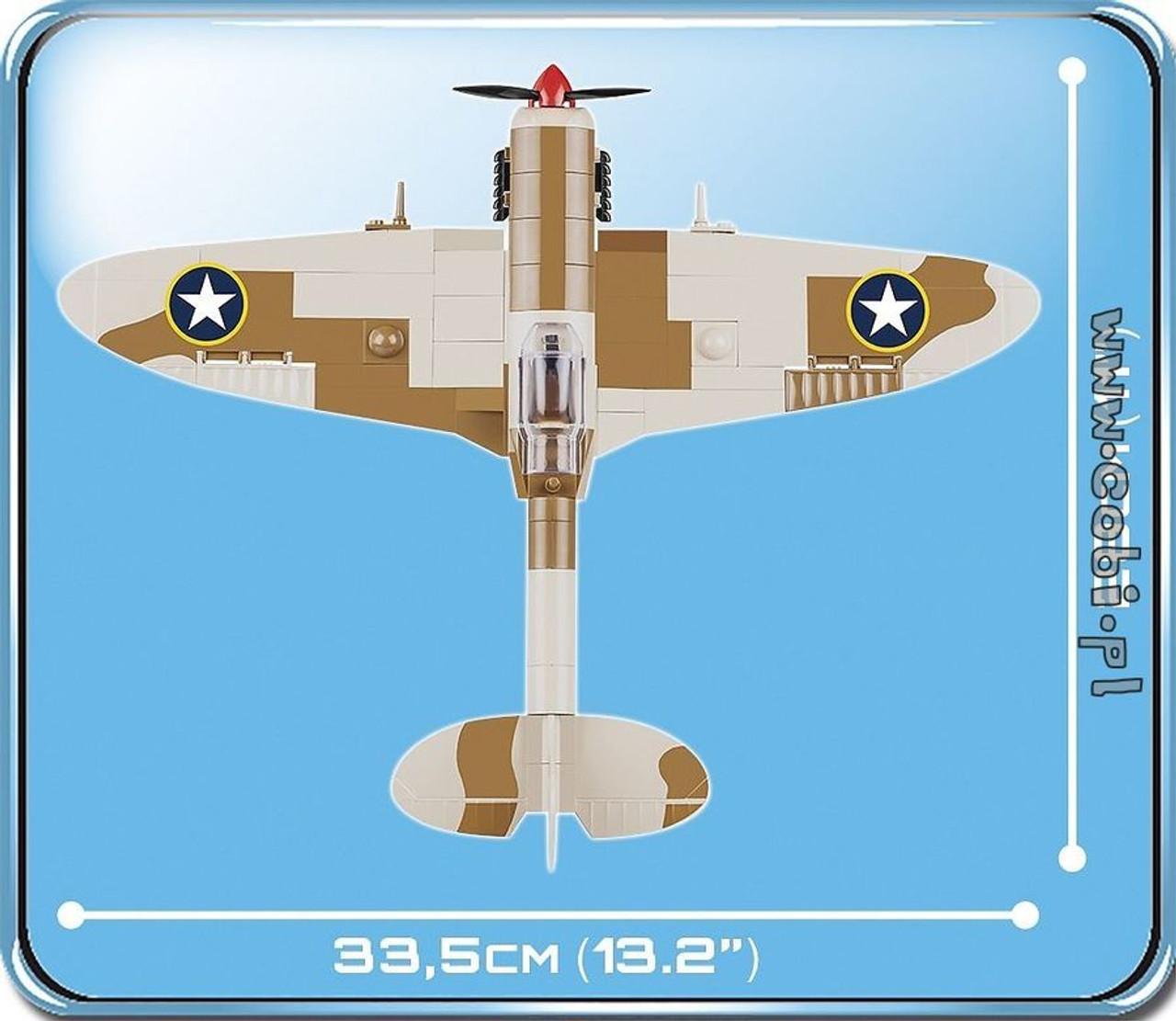 World War II - 500 piece Supermarine Spitfire Maintenance Hangar-COB5546