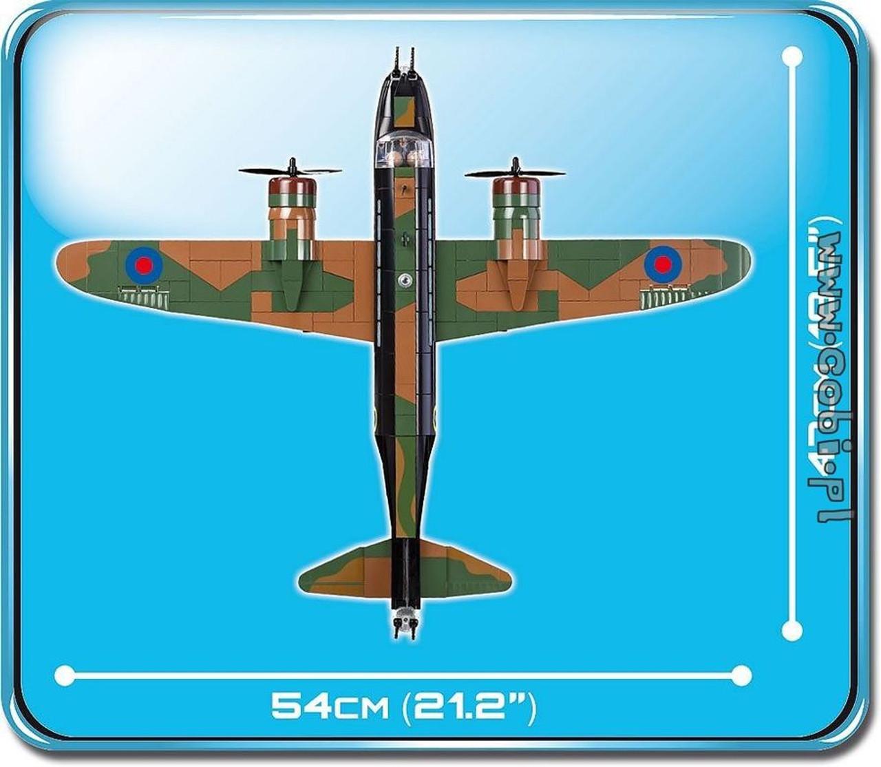 Small Army - 560 piece Vickers Wellington Mk 1C-COB5531