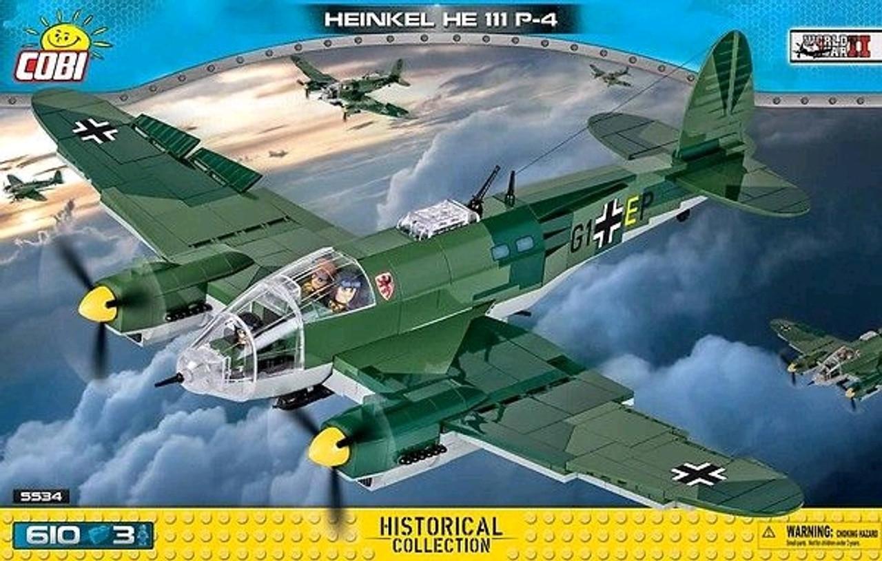 World War II - 610 piece Heinkel HE 111 P-4-COB5534