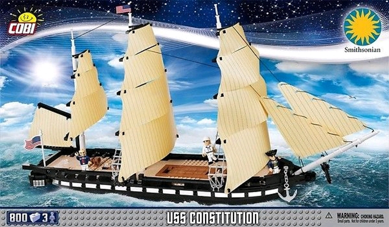 Smithsonian - 800 piece USS Constitution-COB21078