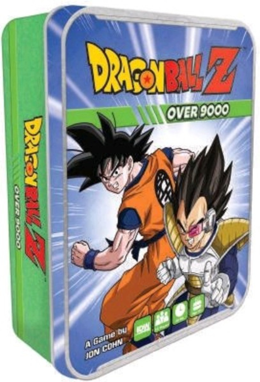 Dragon Ball Z - Over 9000 Card Game in Tin-IDW01592