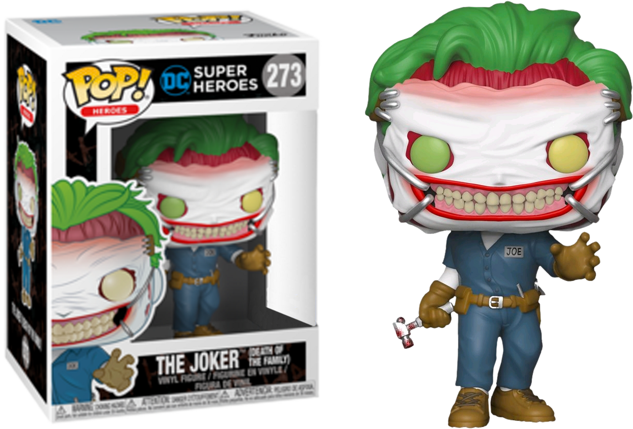 Batman - Joker (Death of the Family) US Exclusive Pop! Vinyl-FUN37487