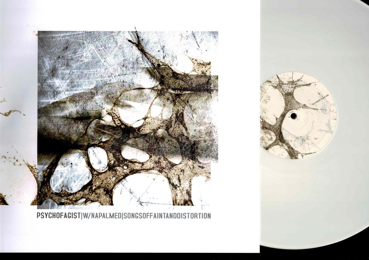 Psychofagist|w/Napalmed|-Songs Of Faint And Distortion-VINYL LP (White)-USED-NM-Black Metal