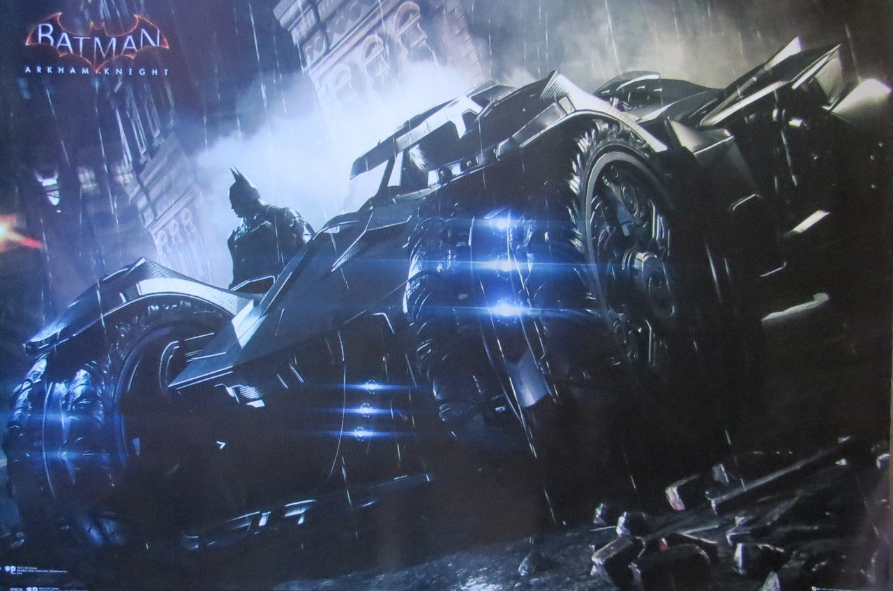 Batman Arkham Origins - Batmobile - Poster-Laminated Available-90cm x 60cm-Brand New
