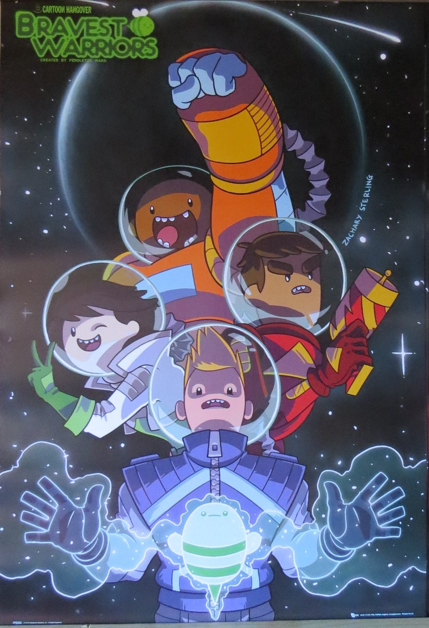 Bravest Warriors-TV Show-Space - Poster-Laminated Available-90cm x 60cm-Brand New