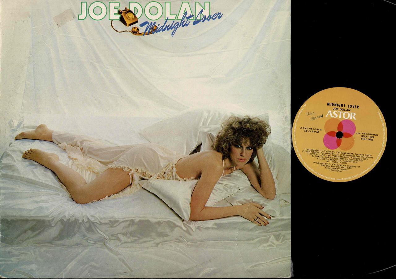 Joe Dolan-Midnight Lover-VINYL LP-USED-Aussie press