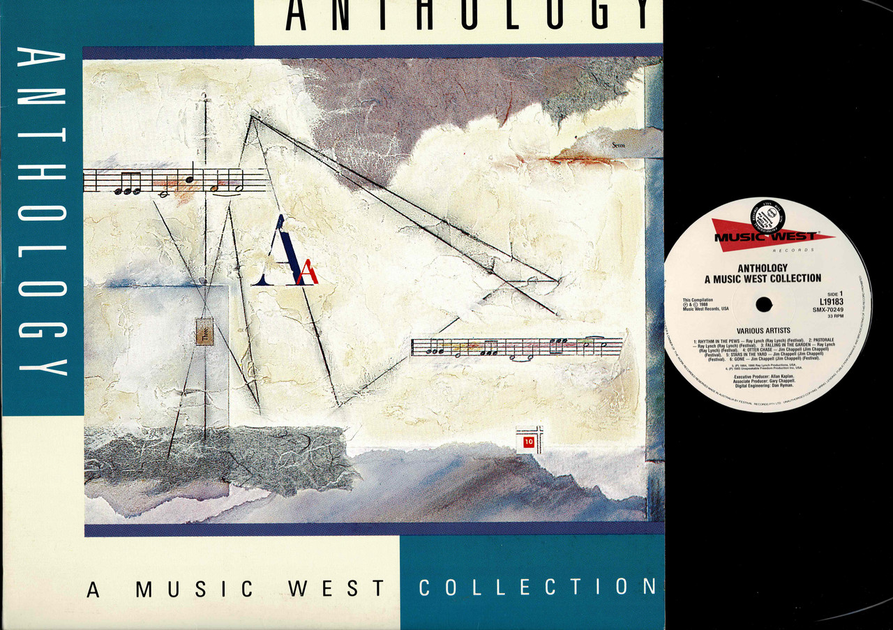 Various ?– Anthology - A Music West Collection-VINYL LP-USED-Aussie press