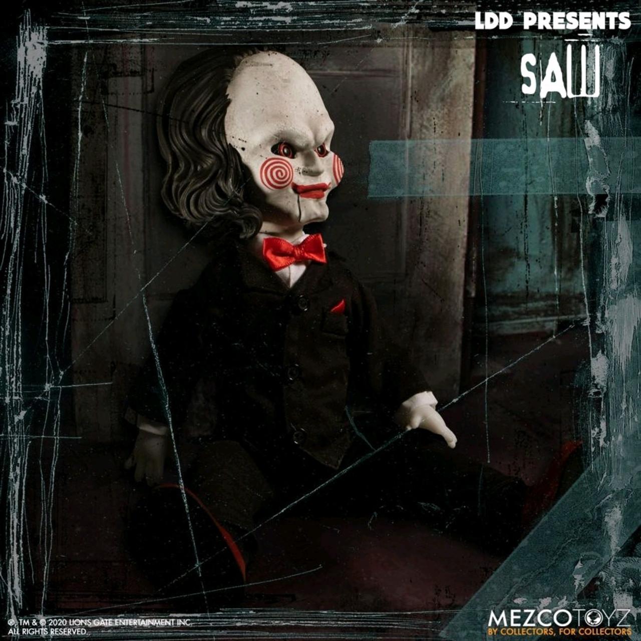 Living Dead Dolls - Saw Billy the Puppet-MEZ99620-MEZCO TOYZ
