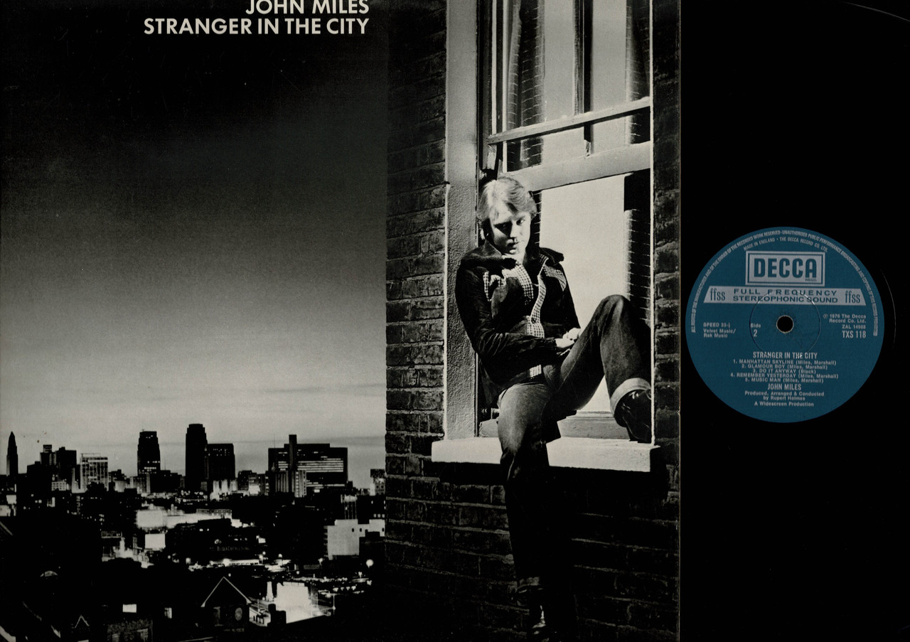 John Miles-Stranger In The City-VINYL LP-USED-UK press-LP_1156