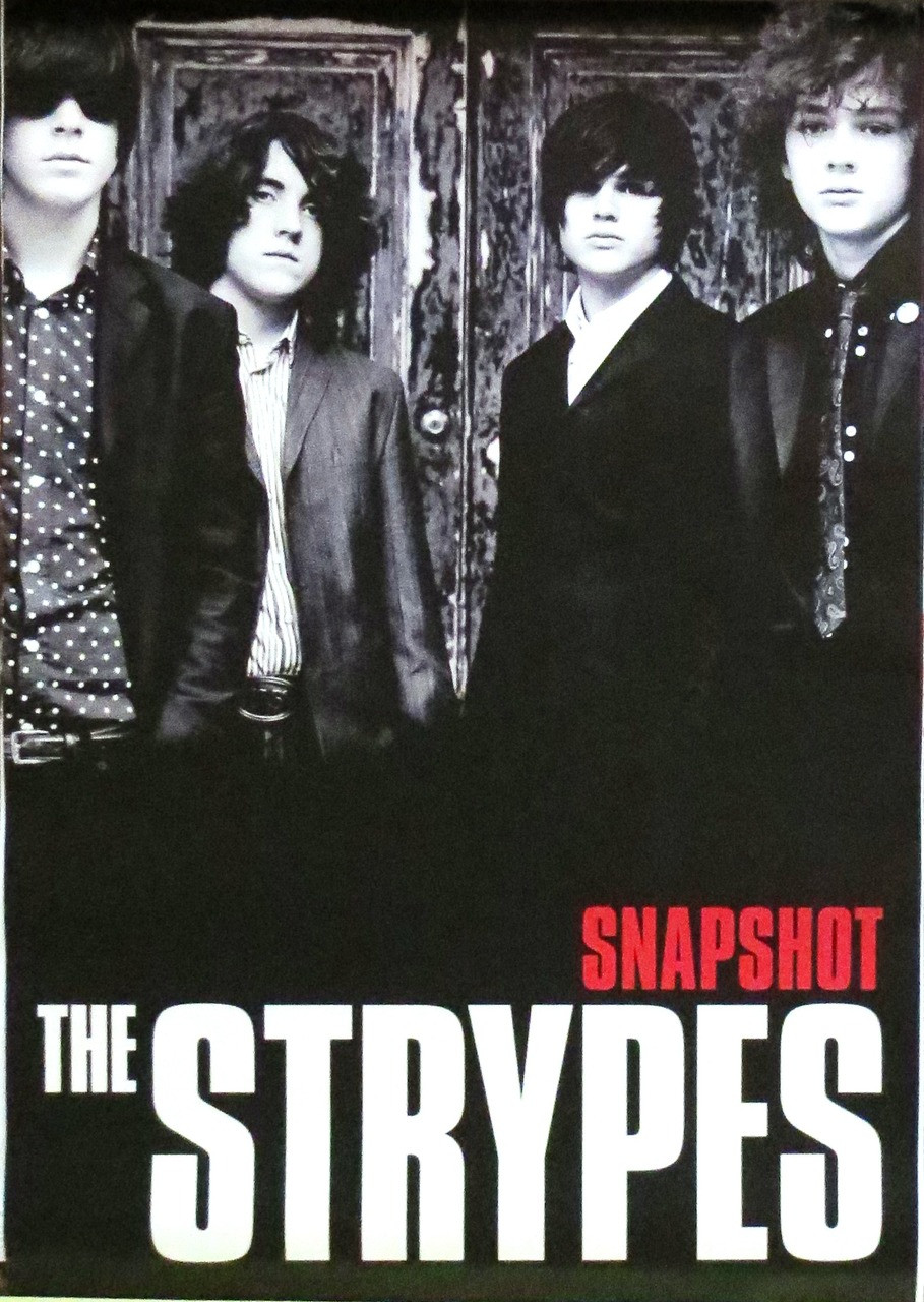 THE STRYPES-Snapshot-Poster-Laminated available-90cm x 60cm-Brand New