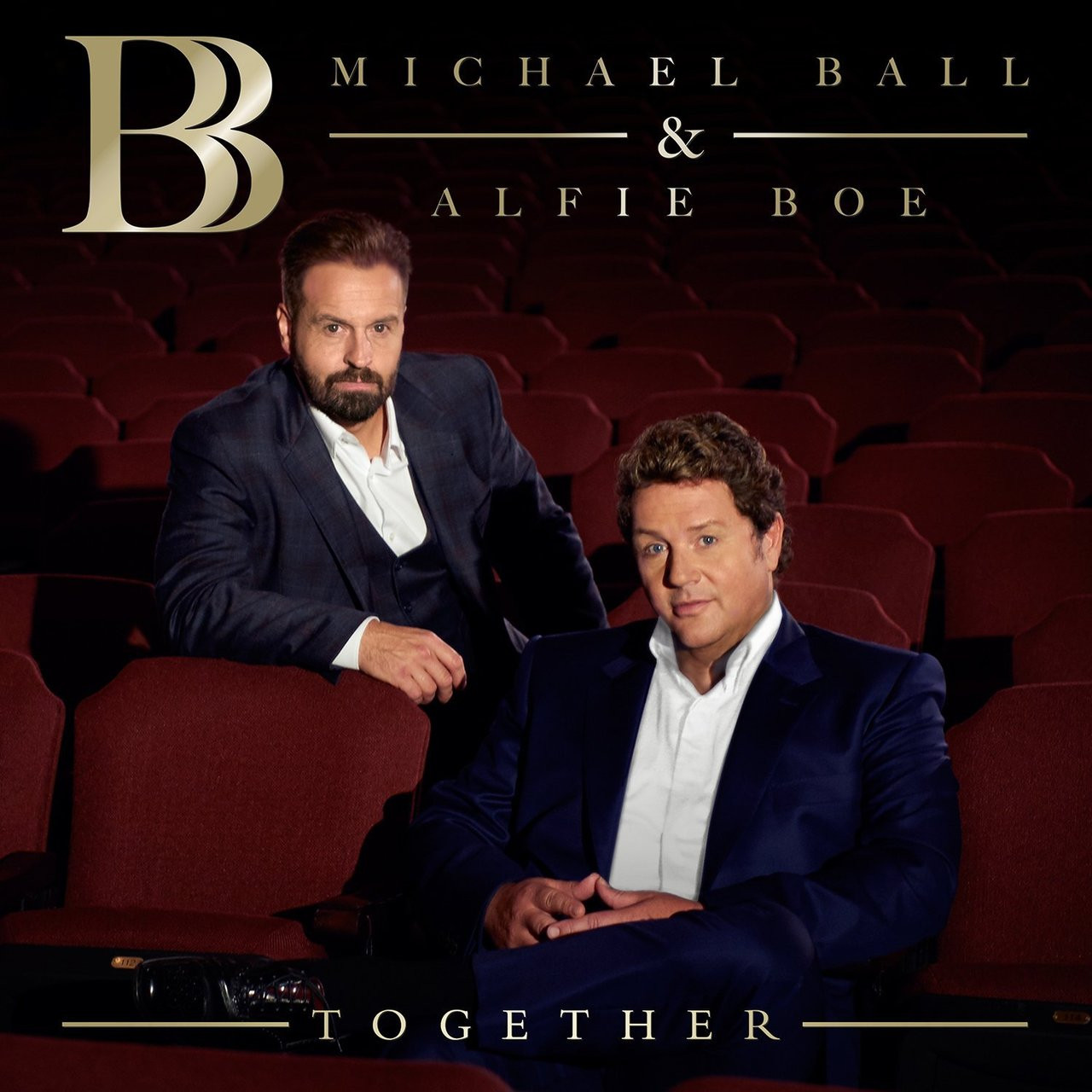 ALFIE BOE MICHAEL BALL -Together-CD-Brand New/Still sealed