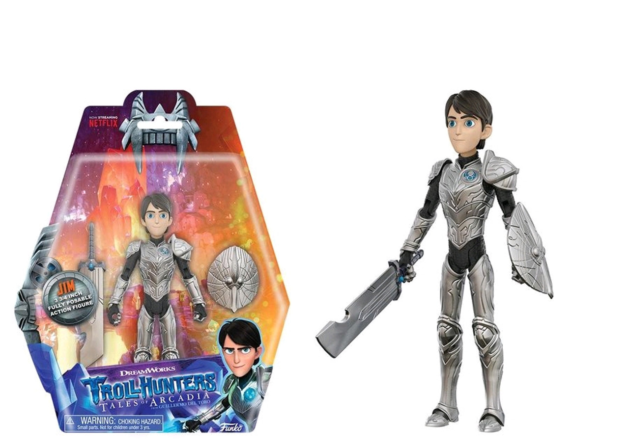 Trollhunters - Jim Action Figure [RS]-FUN13157