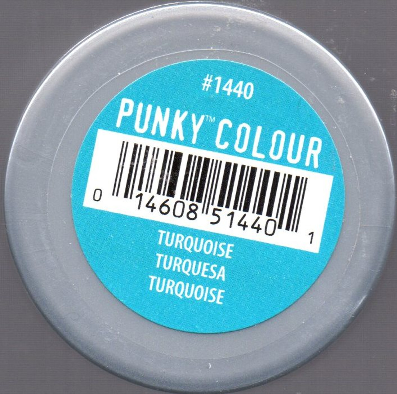 Punky Colour-TURQUOISE-100ml HAIR DYE Jerome Russell- New/Sealed-Punk