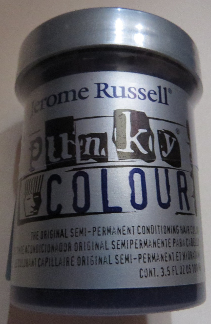 Punky Colour-VIOLET-100ml HAIR DYE Jerome Russell- New/Sealed-Punk