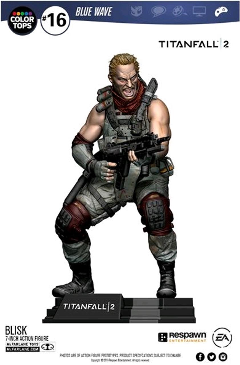 "Titanfall 2 - Blisk 7"" Action Figure-MCF12019"