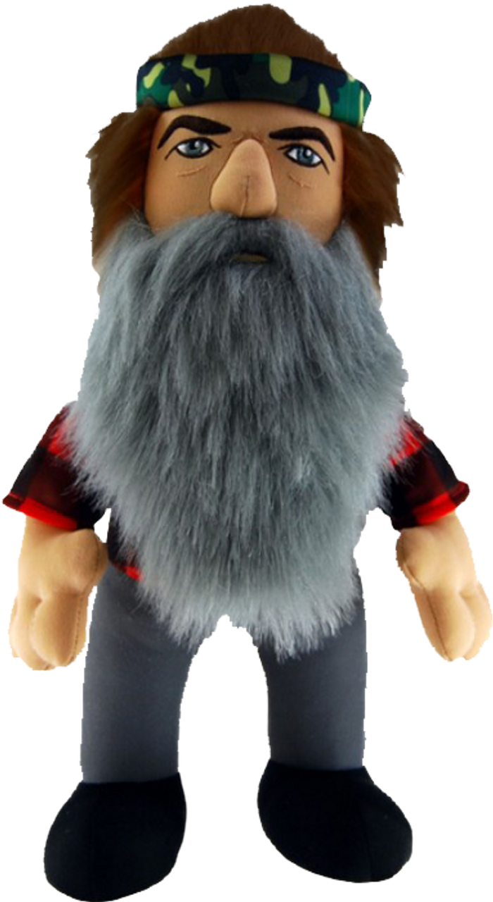 "Duck Dynasty - 24"" Phil Plush with Sound-CTN96490"