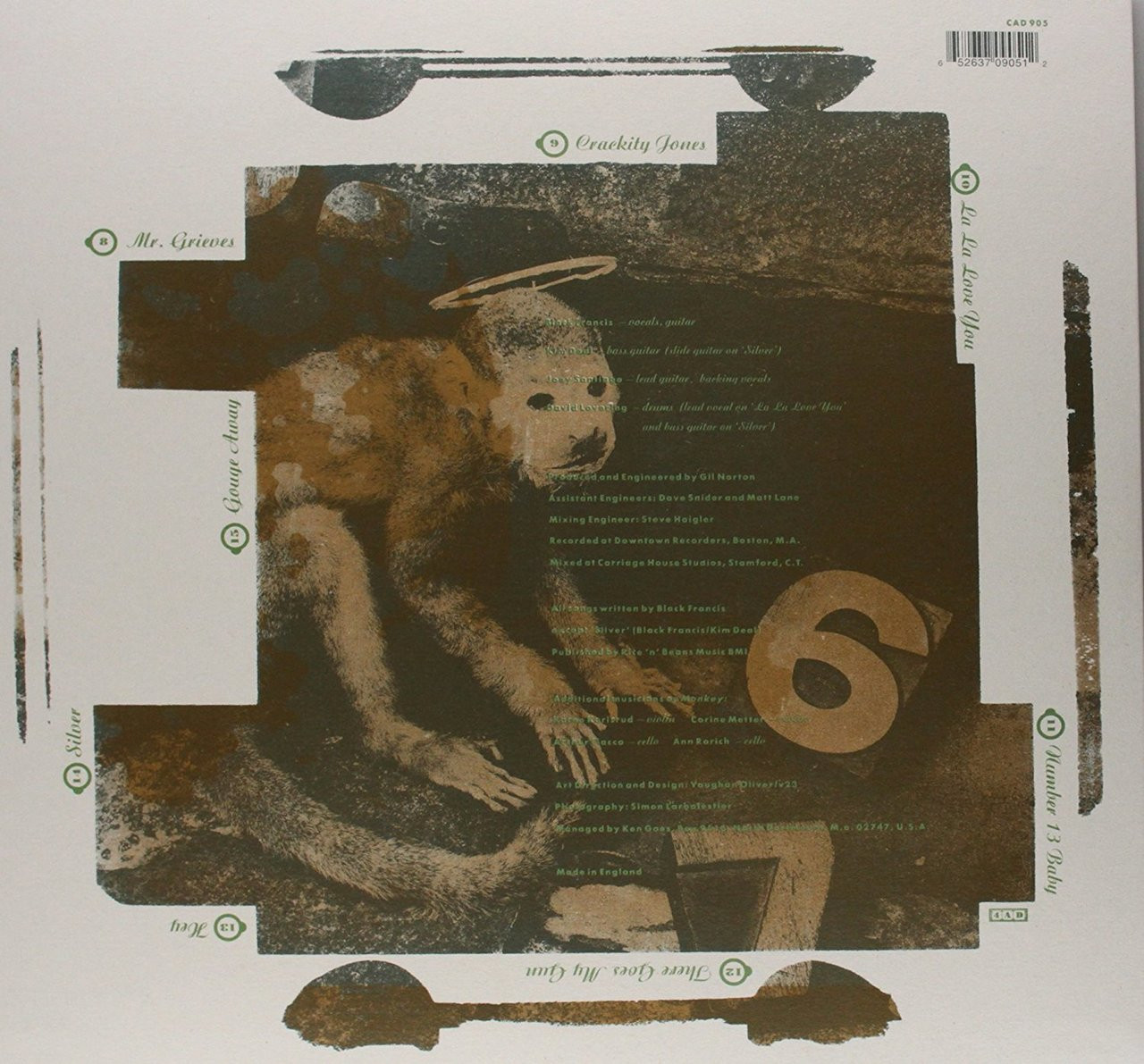 PIXIES -DOOLITTLE-Vinyl LP-Brand New-Still Sealed
