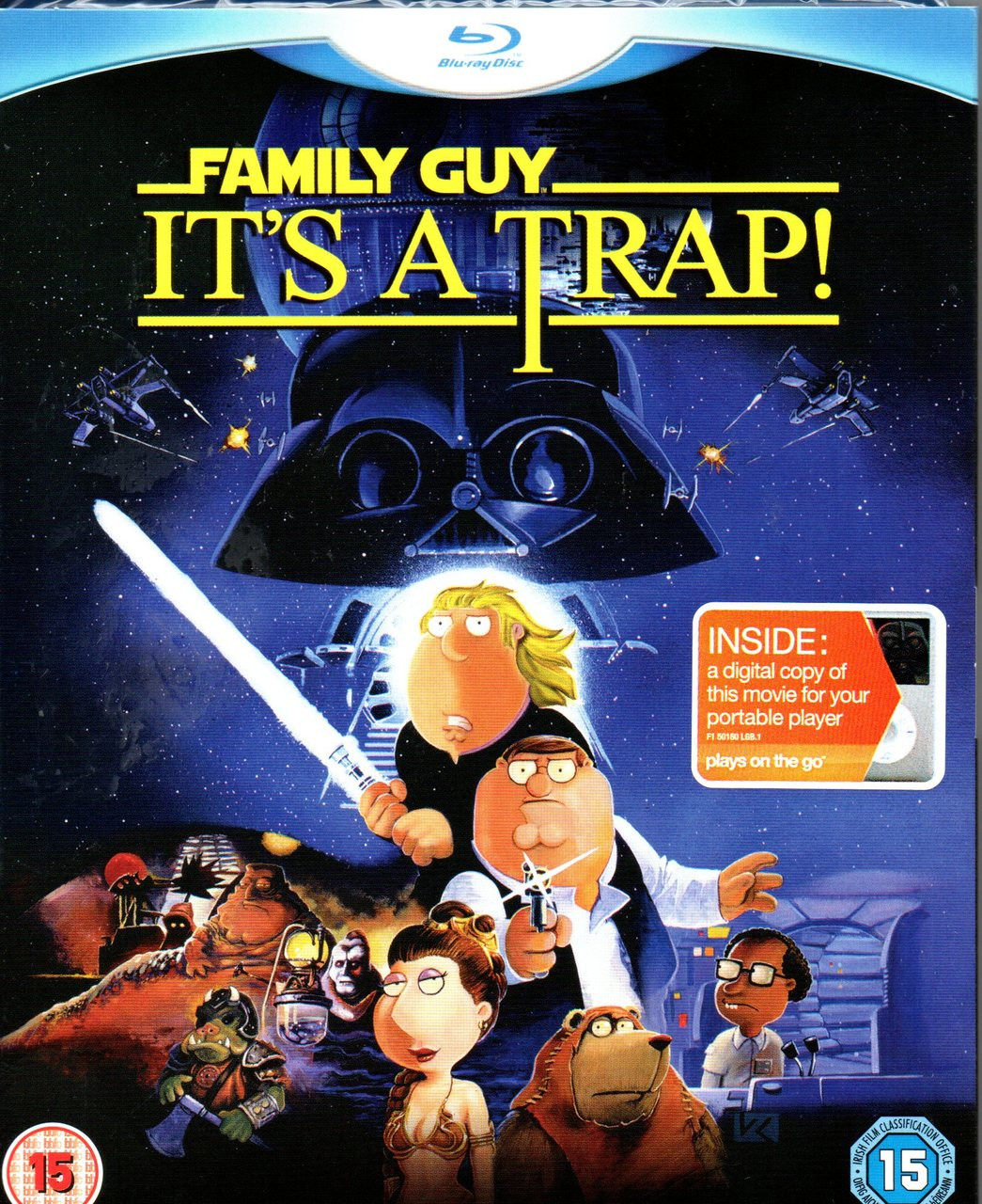 Family Guy - It's A Trap! (Blu-ray + DVD + Digital Copy)-Region B -Brand New-Still Sealed