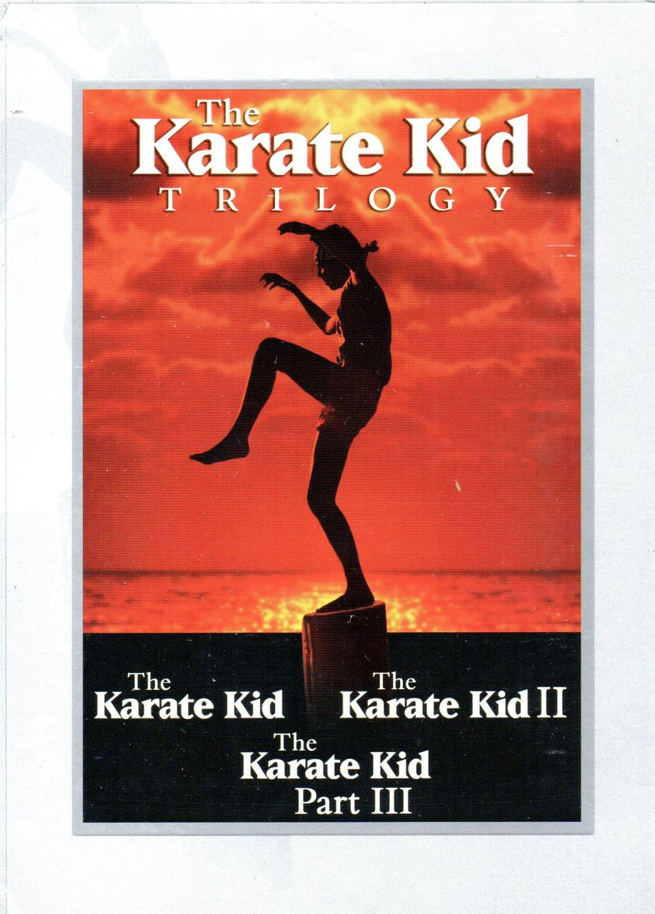 Karate Kid, The Trilogy (1, 2 and 3) (3 Discs)-DVD -Region 1-Brand New-Still Sealed
