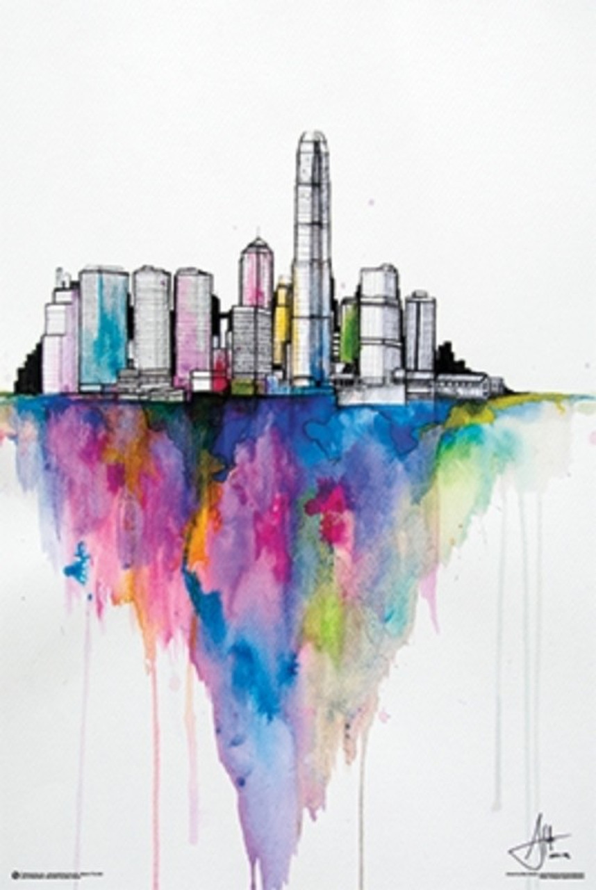 Monolith II by Marc Allante-Poster-Laminated available-91cm x 61cm-Brand New-PSA010975