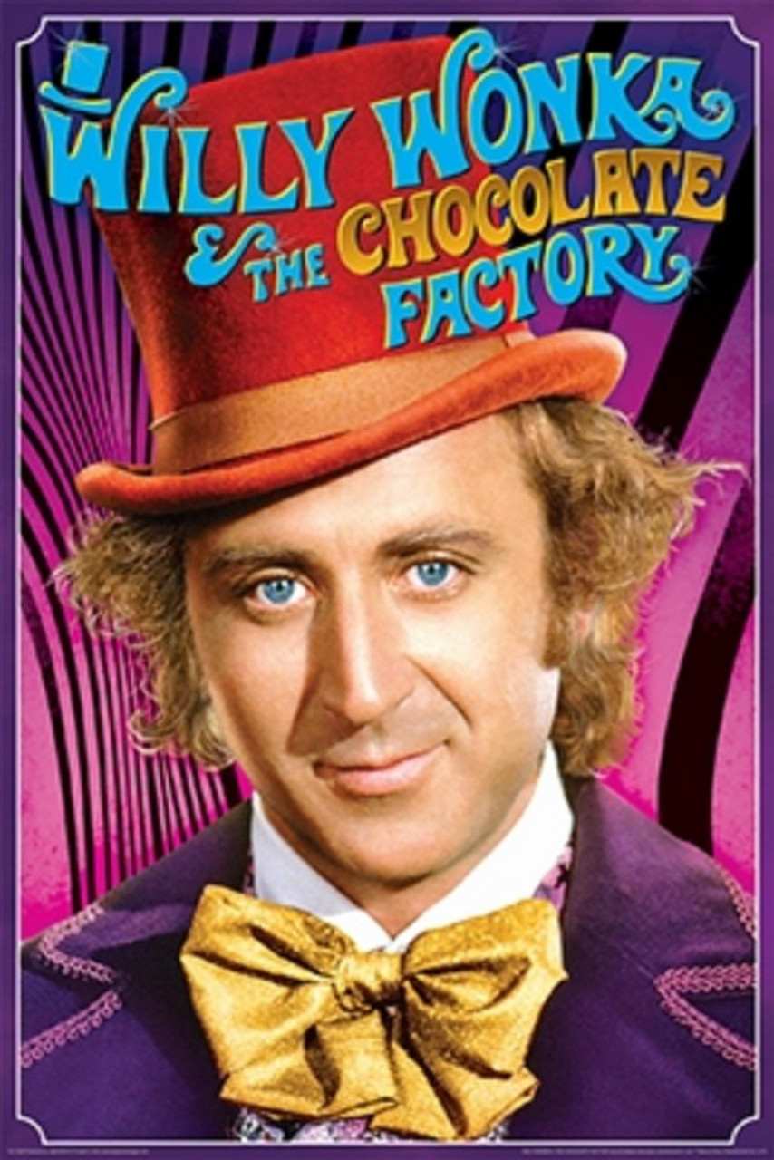 Willy Wonka - Willy Wonka-Poster-Laminated available-91cm x 61cm-Brand New-PSA009992