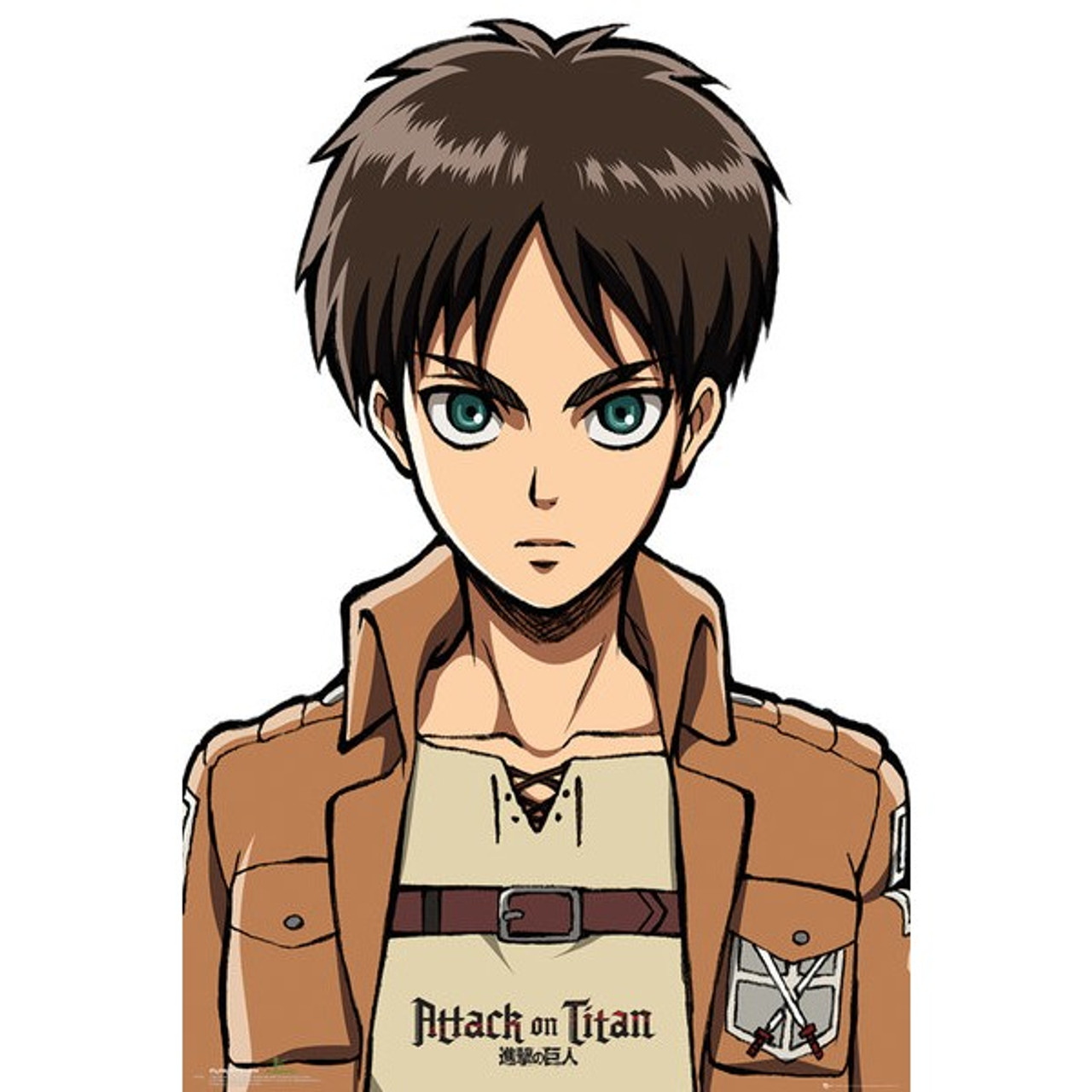 Attack On Titan-Eren Jäger-Poster 61cm x 91cm-LAMINATED Available-P5045