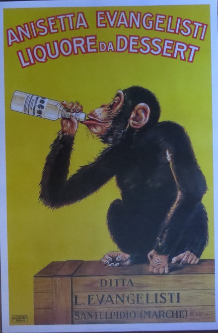 Liquore Da Dessert-Vintage Advertising- Poster-Laminated available-90cm x 60cm-Brand New