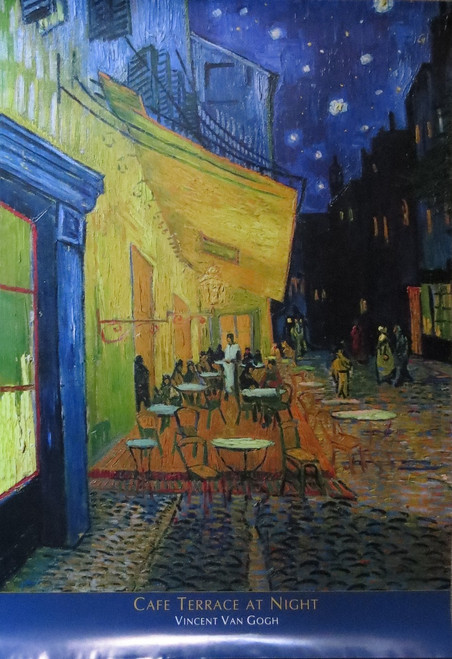 VAN GOGH CAFE TERRACE - Poster-Laminated available-100cm x 70cm-Brand New